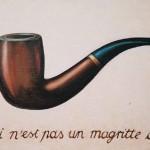 ceci n'est pas un magritte, Pfeife René Magritte, Urheber
