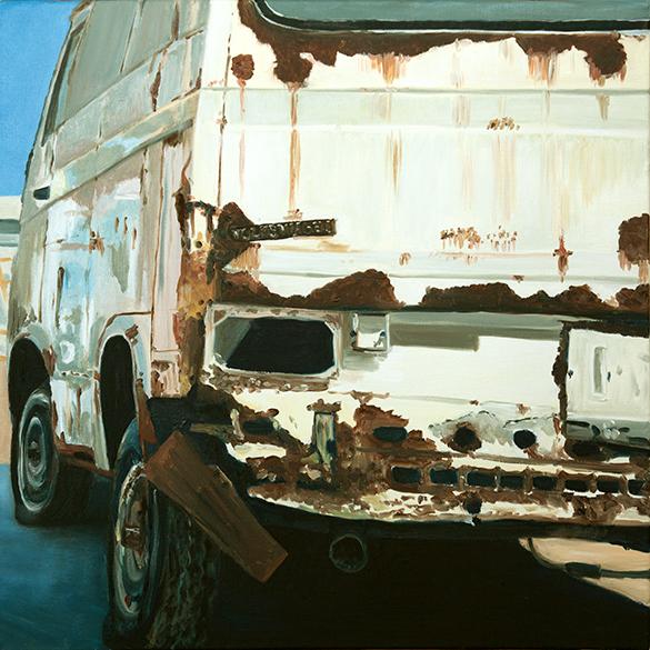 Martin Breuer - Öl auf Leinwand, 60 x 60 cm 2017